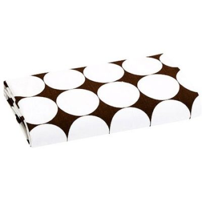 Walmart – Bacati – Dots Fitted Crib Sheet 100% Cotton Percale, White and Brown Only $4.29 (Reg $9.52) + Free Store Pickup