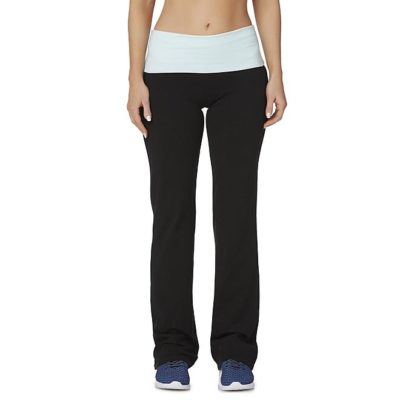 Sears – Everlast® Women's Rollover Yoga Pants – Striped Only $12.00 Through 08/05/17  (Reg $24.00) + Free Store Pickup