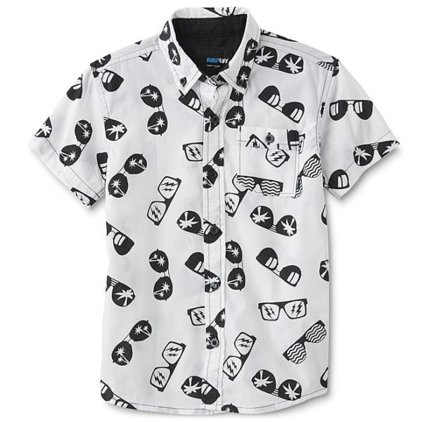 Sears – Amplify Boys' Button-Front Shirt – Sunglasses Only $9.99 (Reg $20.00) + Free Store Pickup