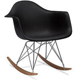 Kmart – Baxton Studio Dario Black Plastic Mid-Century Modern Rocking Chair Only $98.99 (Reg $129.99) + Free Shipping