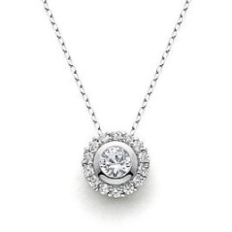 Sears – Sterling Silver Created White Sapphire Pendant Only $19.99 (Reg $99.99) + Free Store Pickup