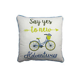 Sears – Say Yes Decorative Pillow Only $14.99 (Reg $24.99) + Free Store Pickup