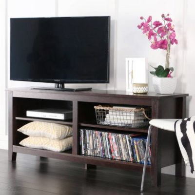 Walmart – Wood TV Stand for TVs up to 60″, Multiple Finishes Only $104.47 (Reg $116.08) + Free Shipping