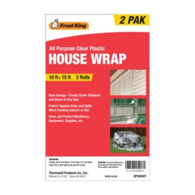 Walmart – Frost King All-Purpose Clear Plastic House Wrap Only $4.88 (Reg $7.92) + Free Store Pickup