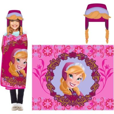 Walmart – Disney's Frozen Anna Hoodi Wink Cozy Hat & Throw Wrap Set Only $8.42 (Reg $18.71) + Free Store Pickup