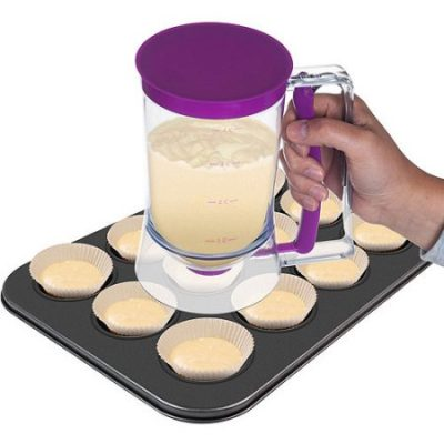 Walmart – Chef Buddy 4-Cup Cake Batter Dispenser Only $8.99 (Reg $13.55) + Free Store Pickup
