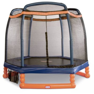 Walmart – Little Tikes 7′ indoor/outdoor Trampoline with Enclosure Only $115.00 (Reg $179.98) + Free Shipping