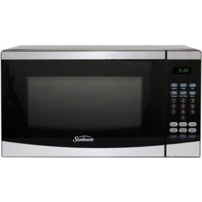 Walmart – Sunbeam 0.7 cu ft Microwave, Stainless Steel Only $54.99 (Reg $74.25) + Free 2-Day Shipping
