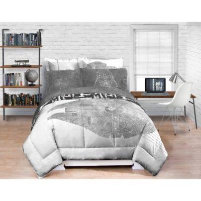 Walmart – Star Wars Millennium Falcon Bedding Comforter- Exclusive Only $14.98 (Reg $39.98-$50.00) + Free Store Pickup