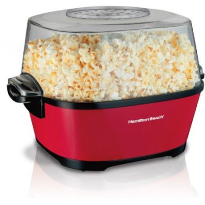 Walmart – Hamilton Beach Hot Oil Popcorn Popper | Model# 73302 Only $21.49 (Reg $34.96) + Free Store Pickup