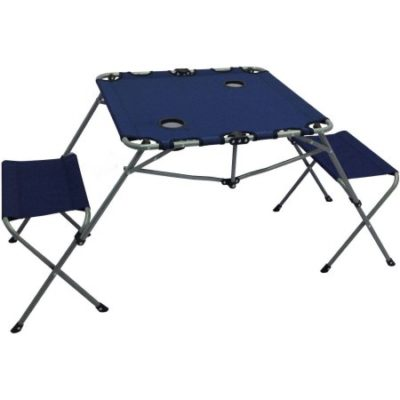 Walmart – Ozark Trail 2-In-1 Table Set with Two Seats and Two Cup Holders Only $19.99 (Reg $29.00) + Free Store Pickup