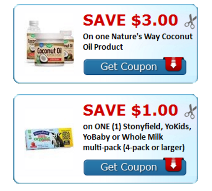 New Printable Coupons – $3 Off Coconut Oil, $1 Off Sunsweet Dried Fruit And Lots More!