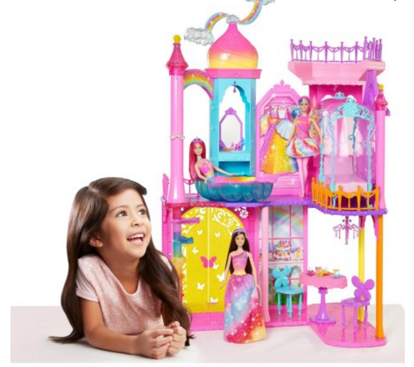 Barbie Rainbow Cove Princess Castle Playset Only $17.88 (Reg $84.00) At Walmart + Free Store Pick Up!