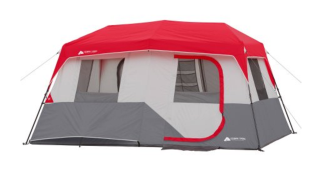 Walmart.com has the Ozark Trail 13u2032 x 9u2032 x 72u2033 Instant Cabin Tent for Only $99.00 (Reg $149) + Free Shipping! This tent Sleeps 8 sets up in one minute ...  sc 1 st  Coupon Terri & Walmart.com - Ozark Trail 13u0027 x 9u0027 x 72