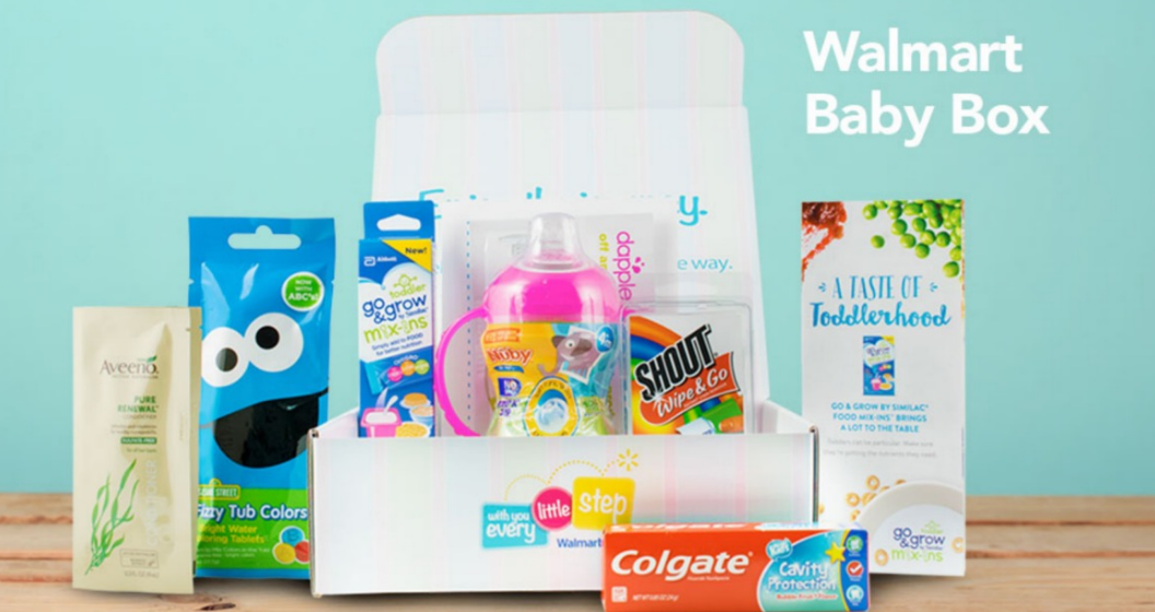 Walmart – FREE Baby Welcome Box (Sign Up Now)