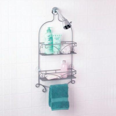 Walmart – Nickel Scroll Shower Caddy Only $10.04 (Reg $14.84) + Free Store Pickup