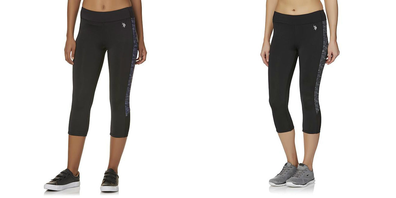 Sears – U.S. Polo Assn. Women's Athletic Capri Pants- Space Dyed Only $6.29 (Reg $38.00) + Free Store Pickup