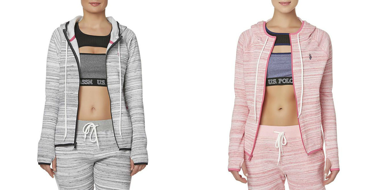 Sears – U.S. Polo Assn. Women's Athletic Hoodie Jacket – Striped Only $8.18 – $9.44 (Reg $48.00) + Free Store Pickup