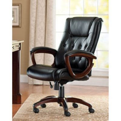 Walmart – Better Homes and Gardens Bonded Leather Executive Office Chair Only $89.00 (Reg $105.00) + Free Shipping