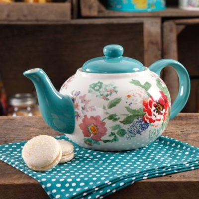 Walmart – The Pioneer Woman Country Garden Teapot Only $10.97 (Reg $14.22) + Free Store Pickup