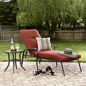 Sears – Garden Oasis Brookston Chaise Lounge- Terracotta Only $149.99 (Reg $299.99) + Free Shipping