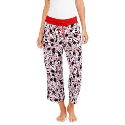 Walmart – Mickey Mouse Women's and Women's Plus License Knit Sleep Capri Pant Only $6.00 (Reg $9.97) + Free Store Pickup