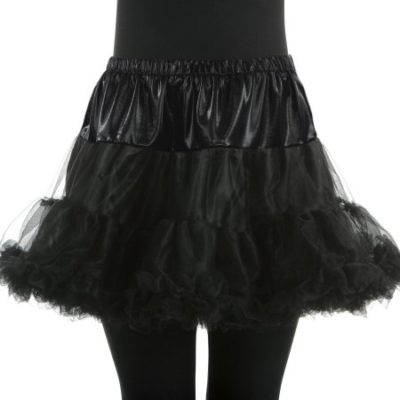 Walmart – Halloween Woman Black Petticoat, Size Large/Plus Only $5.49 (Reg $21.96) + Free Store Pickup