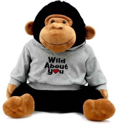 Walmart – Valentine 24″ Lovable Stuffed Gorilla in Gray Hoodie Only $8.61 (Reg $28.00) + Free Store Pickup
