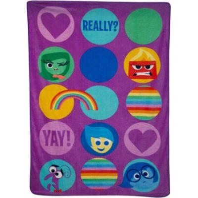 Walmart – Disney Inside Out Blanket Only $13.47 (Reg $20.00) + Free Store Pickup