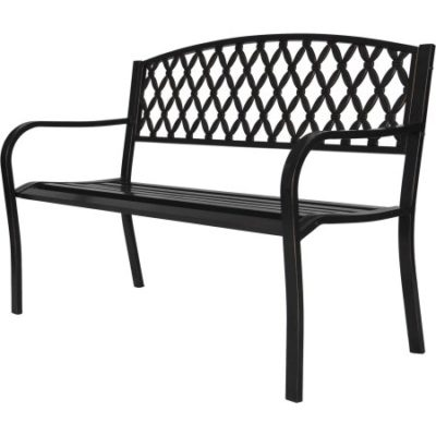 Walmart – Park Bench 4 ft. Metal Only $36.76 (Reg $76.07) + Free Shipping