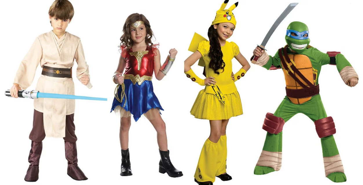 Amazon – Kid's Halloween Costumes up to 50% Off (Today Only)