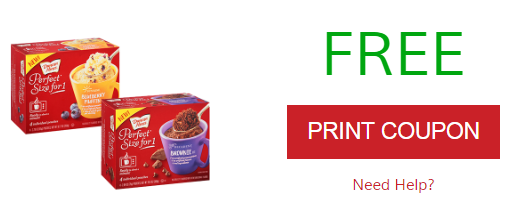FREE Duncan Hines Perfect Size Product Printable Coupon (Print It Now!)