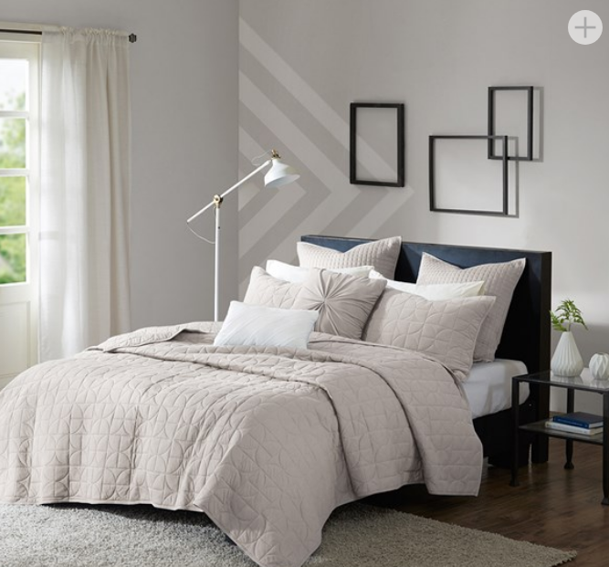 Madden 7 Piece Jersey Quilted Coverlet Set Only $29.99 (Reg $262.63)