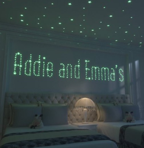 Walmart – Glow Stars Wall Decals (246 decals) Wall Stickers Only $6.90 (Reg $22.49) + Free Store Pickup!