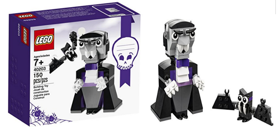 Amazon – LEGO Creator Halloween Vampire and Bat Building Kit (150 Piece) Only $7.99 (Reg $9.99)