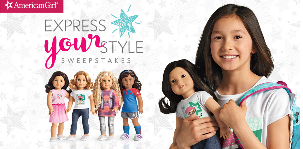 Enter To Win $50 American Girl Gift Card (50 Winners)