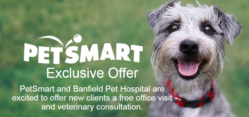Banfield Pet Hospital – Free Office Visit & Consultation Coupon (Located Inside Petsmart)