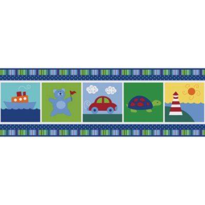 Walmart – Brewster Home Fashions Alvin Blue Wallpaper Border Only $4.67 (Reg $11.98) + Free Store Pickup