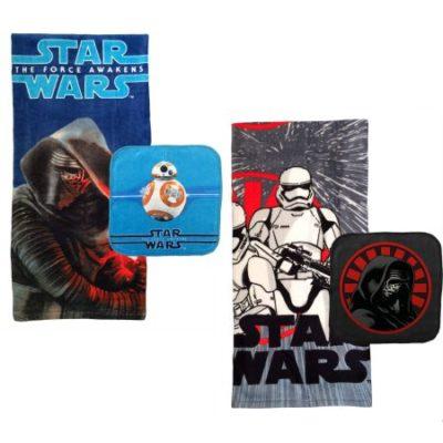 Walmart – Star Wars Episode VII, Towel Set, Set of 2 Only $5.96 (Reg $19.99) + Free Store Pickup