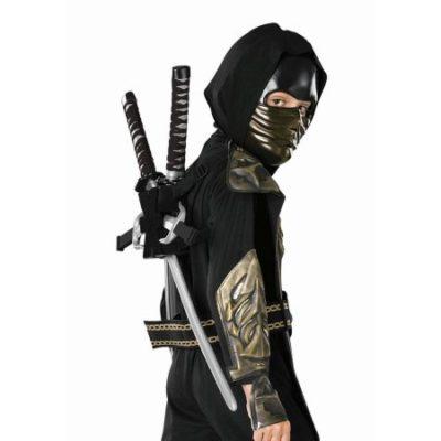 Walmart – Child Costume Black Ninja Backpack Halloween Costume Accessory Only $3.98 (Reg $6.98) + Free Store Pickup