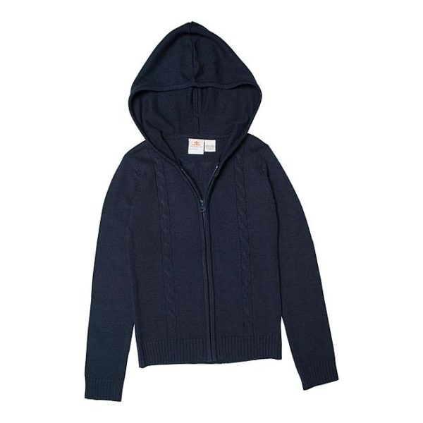 Sears – Dockers Girls' Cable Knit Hoodie Jacket Only $14.40 Through 10/21/17 (Reg $36.00) + Free Store Pickup