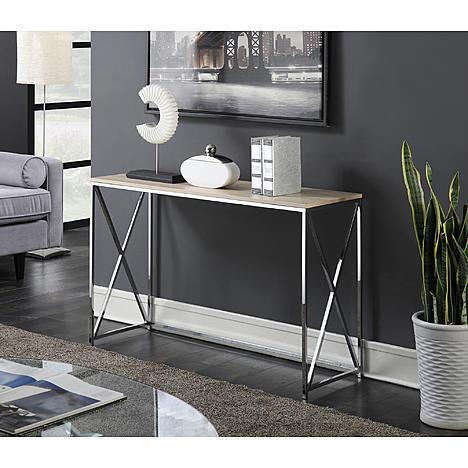 Wondrous Kmart Convenience Concepts Belaire Console Table Only Lamtechconsult Wood Chair Design Ideas Lamtechconsultcom