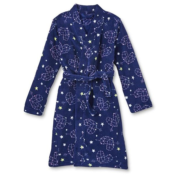 Sears – Joe Boxer Girls' Fleece Robe – Heart Stars Only $16.20 Through 10/21/17 (Reg $36.00) + Free Store Pickup