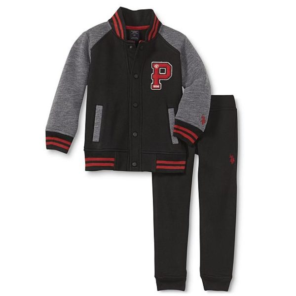 Sears – U.S. Polo Assn. Infant & Toddler Boys' Varsity Jacket & Sweatpants Only $13.00 Through 10/21/17 (Reg $26.00) + Free Store Pickup