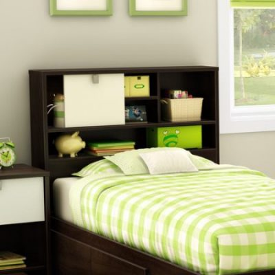 Walmart – South Shore Cookie 39″ Bookcase Headboard, Mocha Only $49.00 (Reg $123.43) + Free Shipping