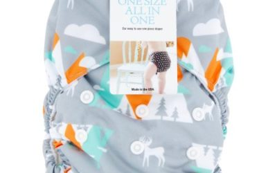 Walmart – Thirsties One Size All in One Mountain Range Cloth Diaper Only $12.38 (Reg $19.75) + Free Store Pickup