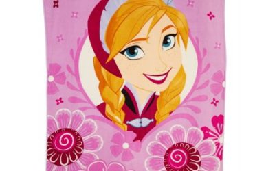 Walmart – Disney Frozen 'Anna in Spring' 90″ x 62″ Twin Blanket Only $12.25 (Reg $22.88) + Free Store Pickup