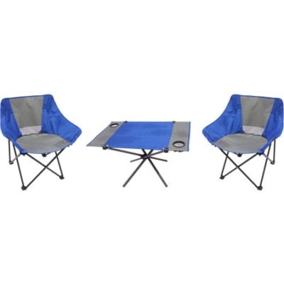 Walmart – Ozark Trail 3-Piece Portable Table and Chair Set Only $19.14 (Reg $25.52) + Free Store Pickup