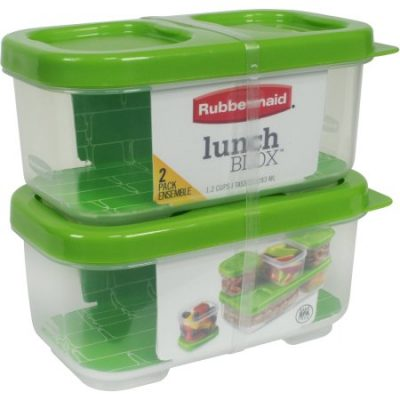 Walmart – Rubbermaid LunchBlox Side Dish Food Storage Containers Only $6.79 (Reg $18.83) + Free Store Pickup