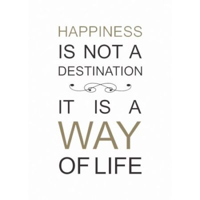Walmart – Happiness Is Not A Destination Wall Quot Stickers Only $5.71 (Reg $19.61) + Free Store Pickup